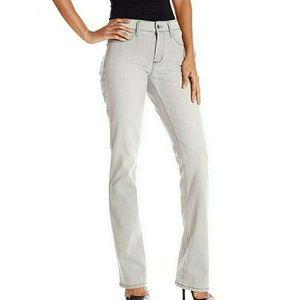 NYDJ Billie Mini Bootcut Jeans in Grey
